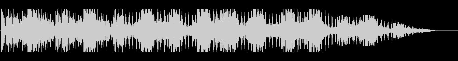 効果音と背景テクスチャの広々とした...の未再生の波形