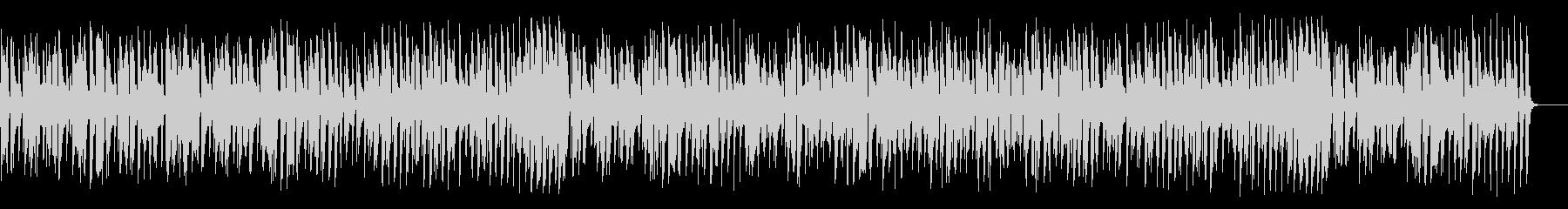 アコーディオンが陽気なジャズの未再生の波形