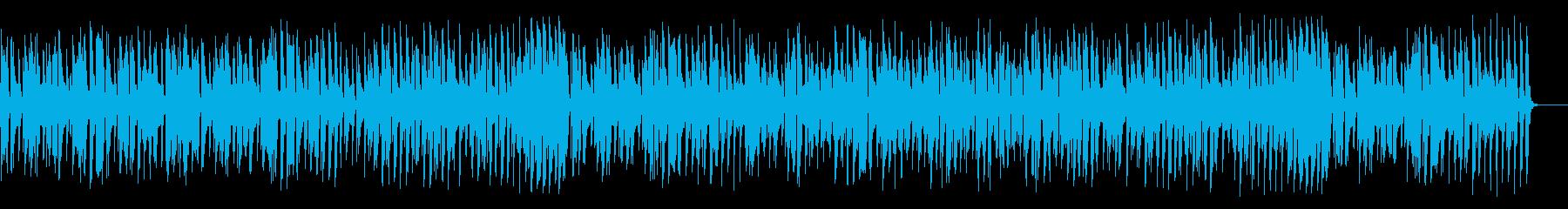 アコーディオンが陽気なジャズの再生済みの波形