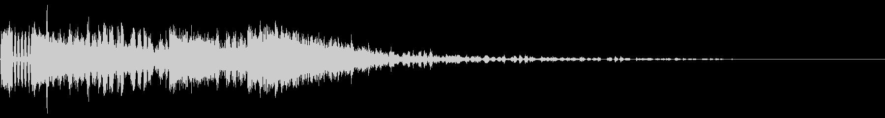 242 FX爆発音(2)の未再生の波形