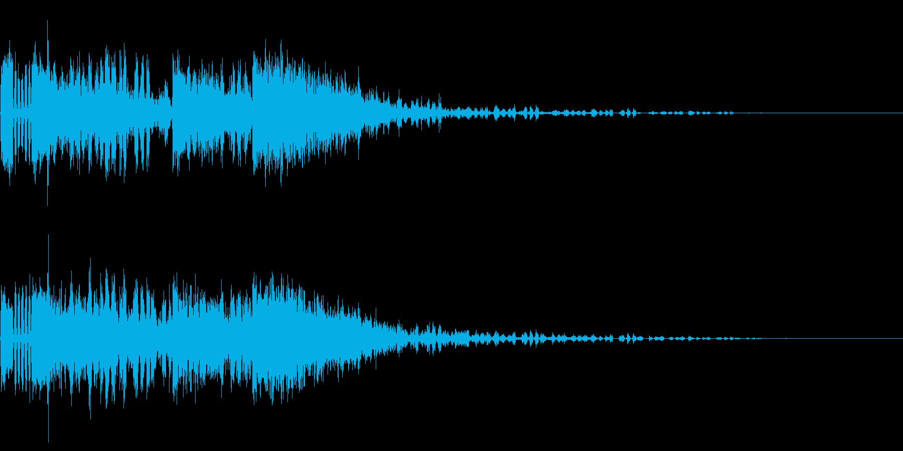 242 FX爆発音(2)の再生済みの波形