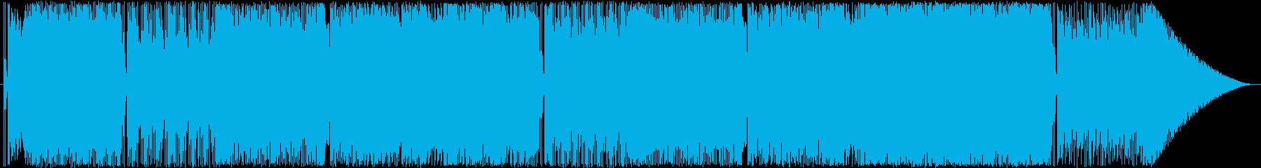 チープな懐かしい感じの夏曲の再生済みの波形