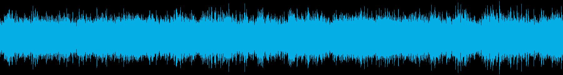おだやかキラキラ/静かめ/ループの再生済みの波形