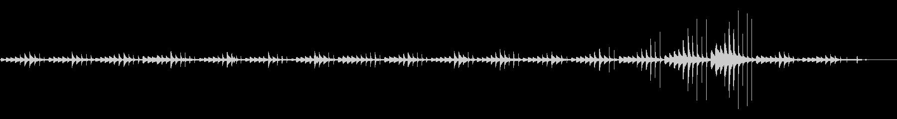 ソロピアノ。風通しの良い音符間隔。...の未再生の波形