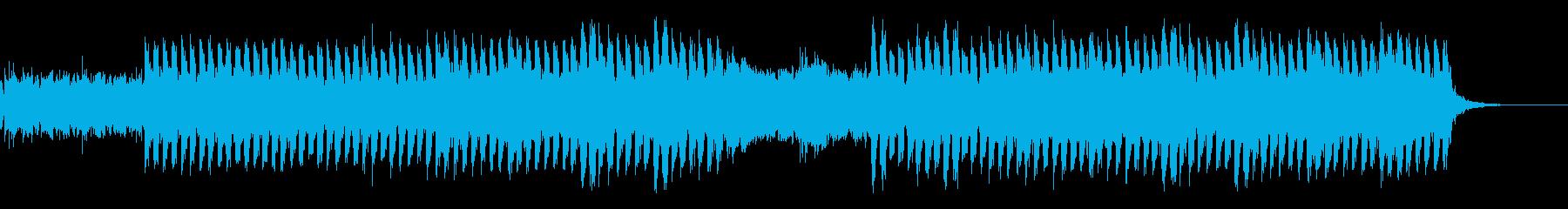 おしゃれ・かっこいい・EDMの再生済みの波形