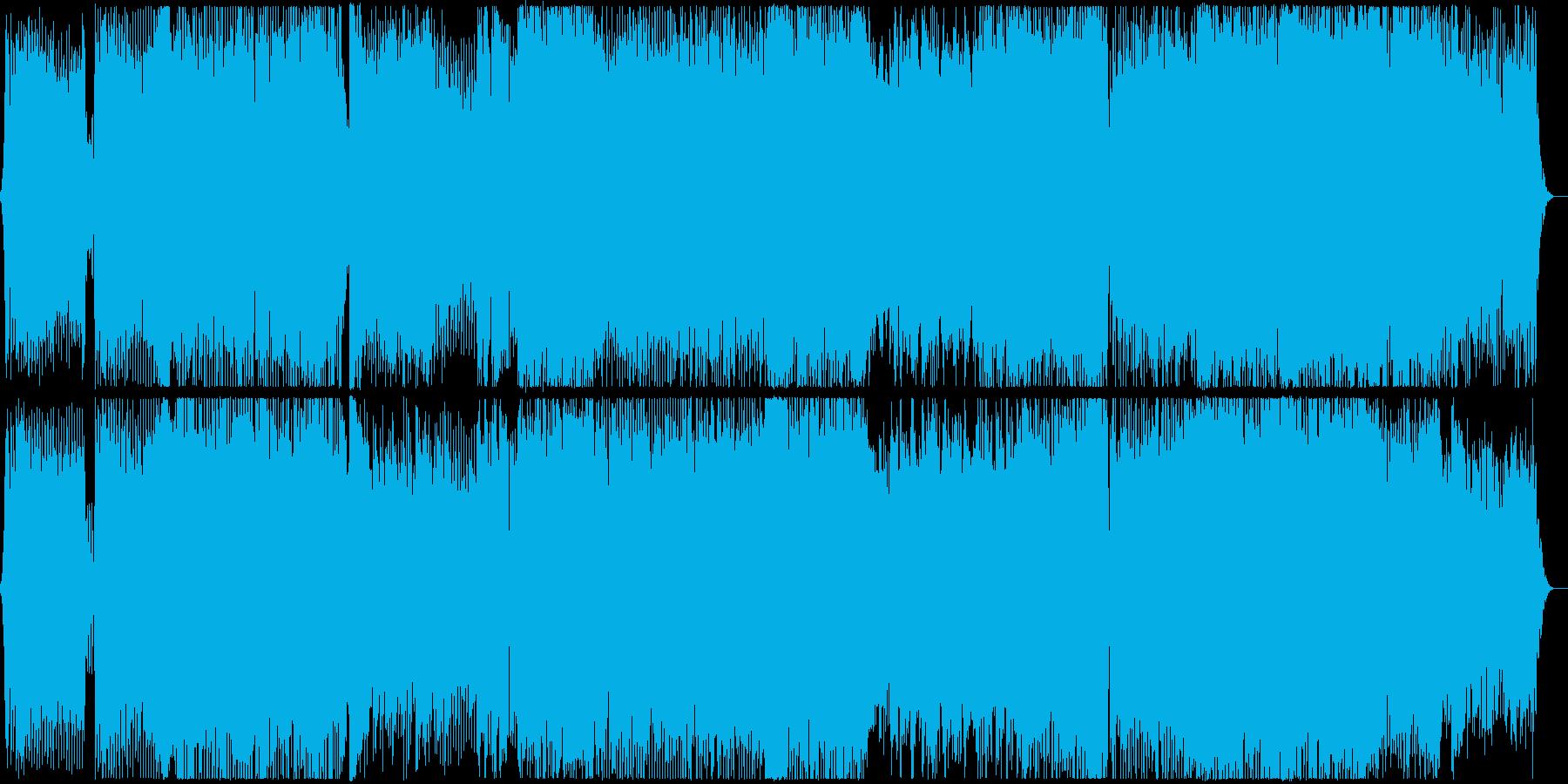 メロディックでUpliftingな曲の再生済みの波形