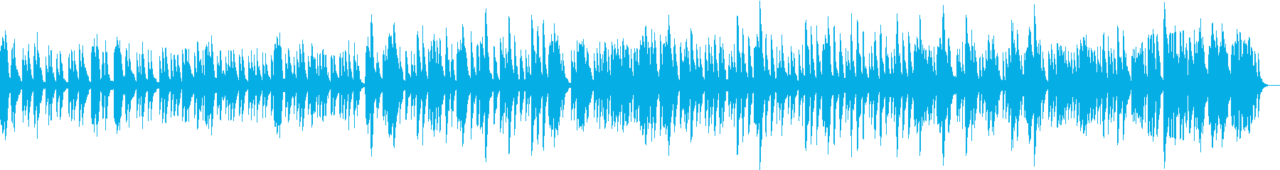 孤独なピアノの静かな呟きの再生済みの波形