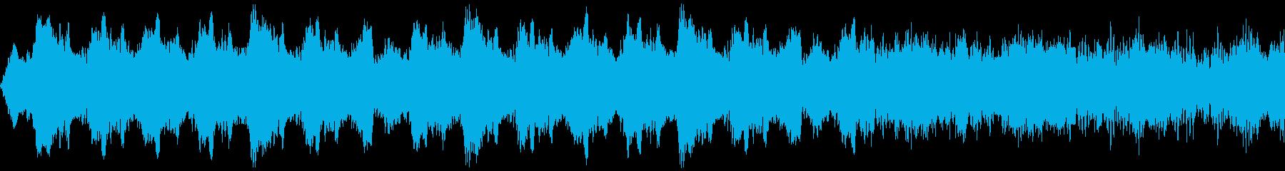 得体のしれない怪しいホラーBGM(短い)の再生済みの波形
