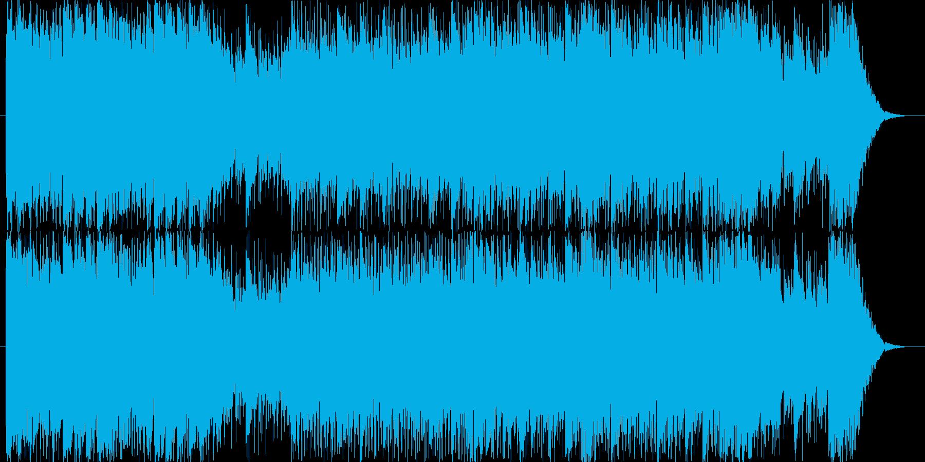 軽い感じの戦闘曲です。1ループが長いか…の再生済みの波形