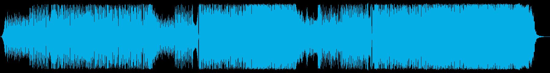 夏の爽快エレクトロニカ・ポップの再生済みの波形
