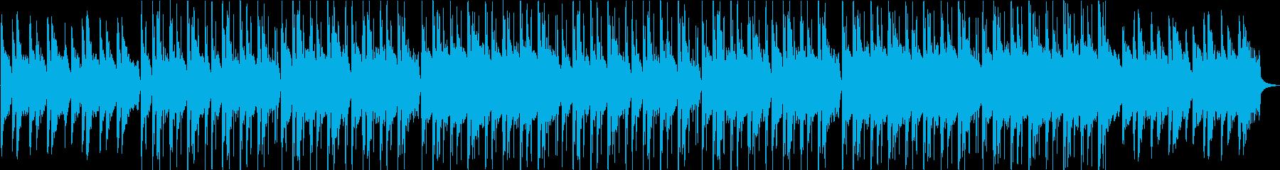 儚い哀愁感・格闘家の練習インタビュー映像の再生済みの波形