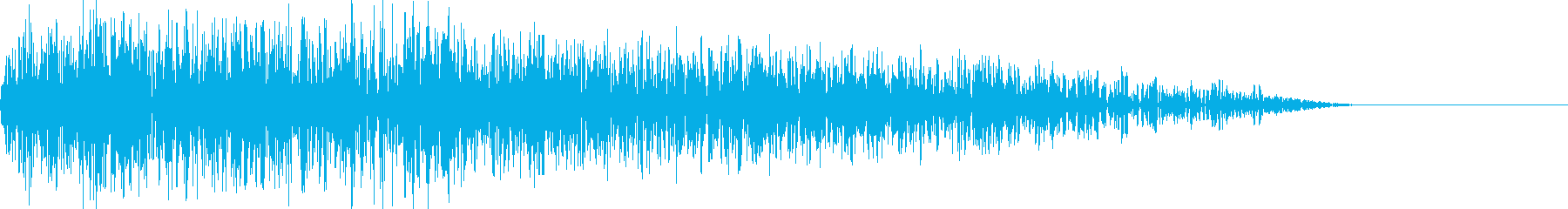 パーオ(ファミコン/変な音/特殊音の再生済みの波形