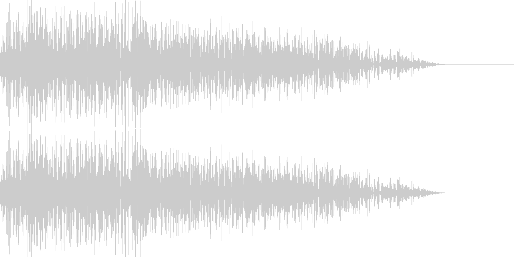 パーオ(ファミコン/変な音/特殊音の未再生の波形