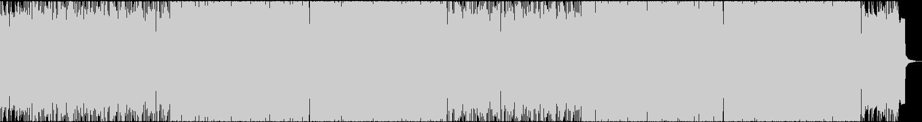 激しい雰囲気のアップビートバンドJの未再生の波形