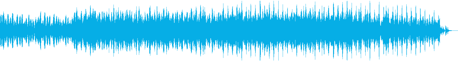 儚く、迷いのある雰囲気のBGMの再生済みの波形
