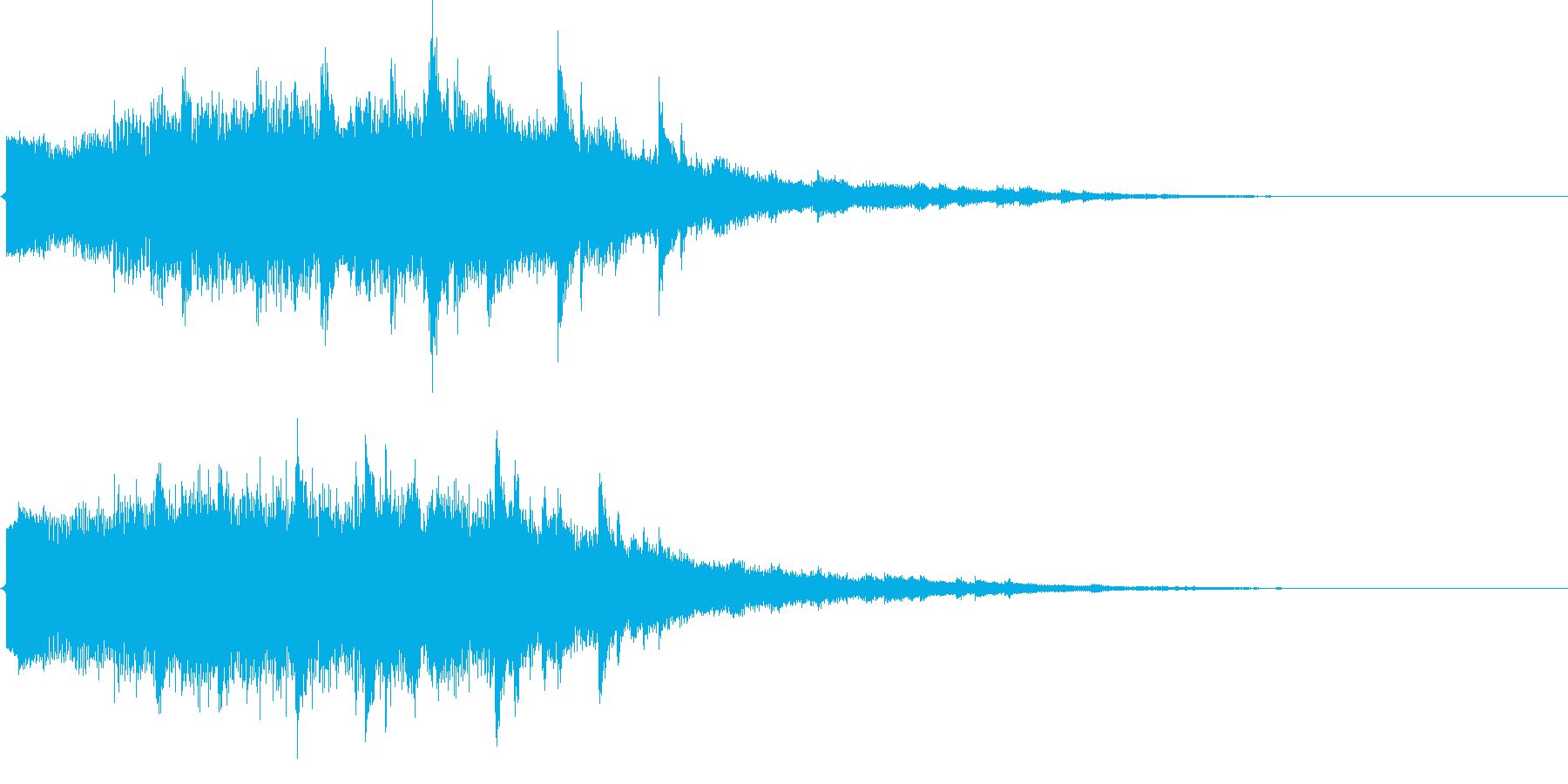 キラキラキラーン(ドレスアップ、変身)の再生済みの波形