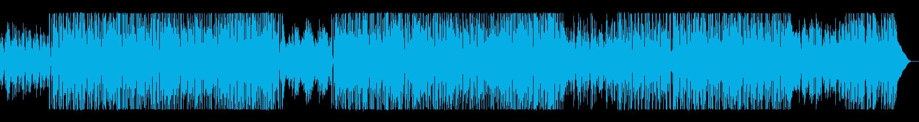 ほのぼのとしたアコースティック風の再生済みの波形