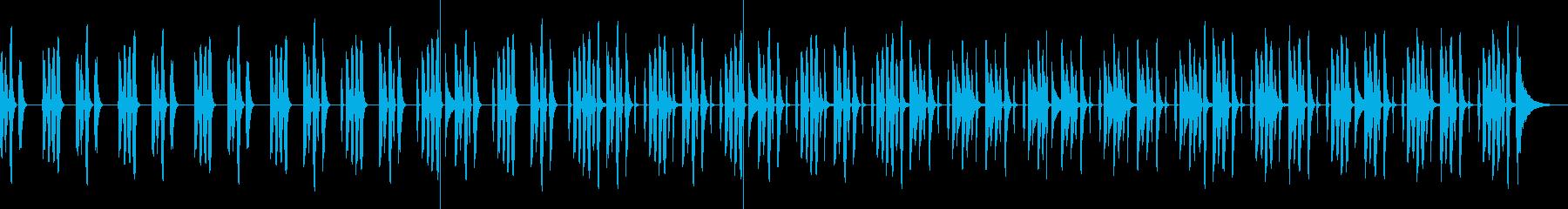 ほのぼの・日常・かわいい・リコーダーの再生済みの波形