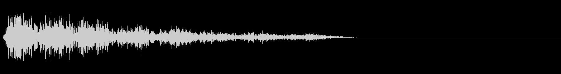 グランドピアノ:タンブルダウン、漫...の未再生の波形