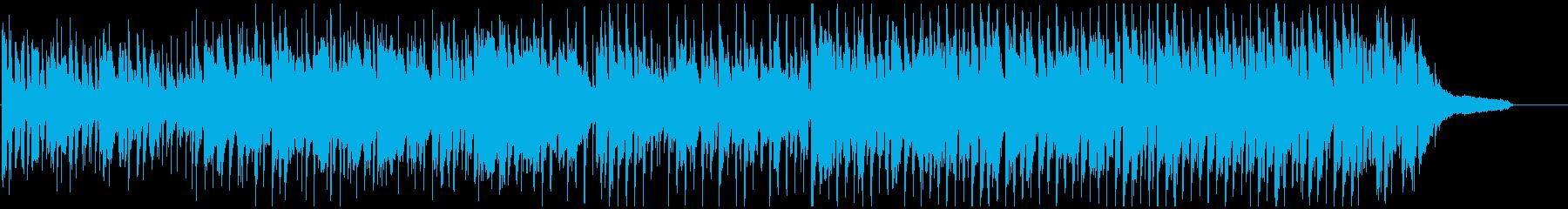 ファンキーなクラブジャズ系のファンクの再生済みの波形
