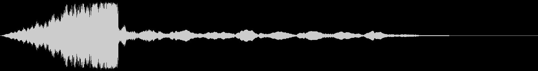 【タイトルロゴ】シネマティック_03の未再生の波形