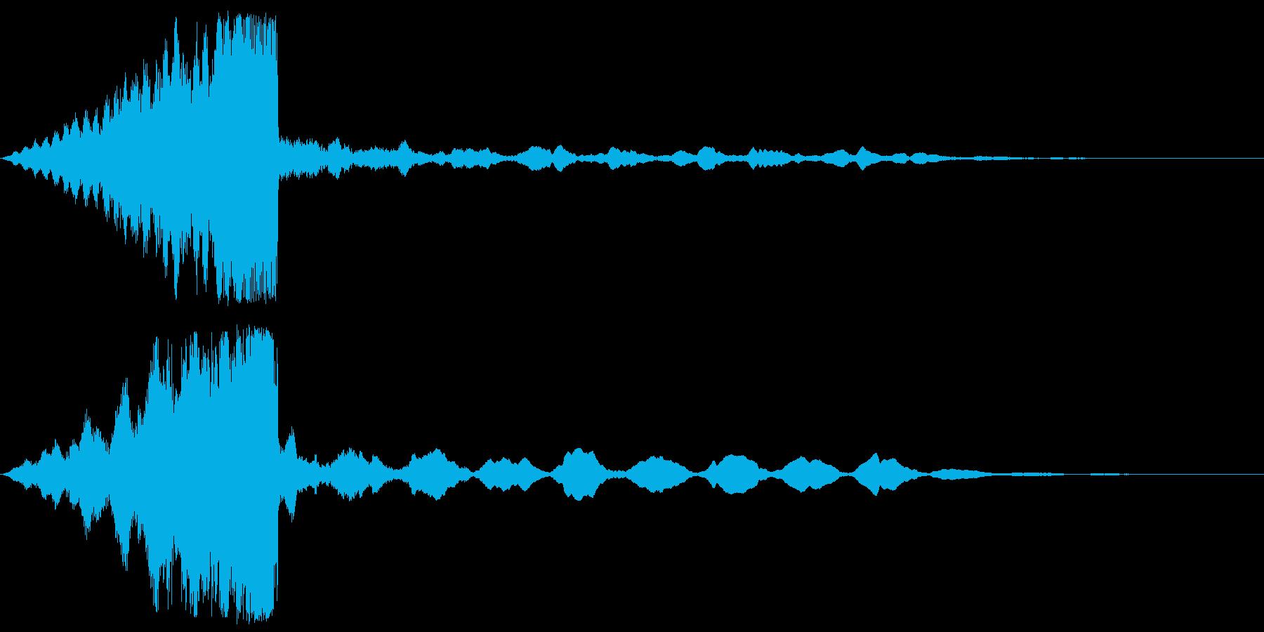 【タイトルロゴ】シネマティック_03の再生済みの波形