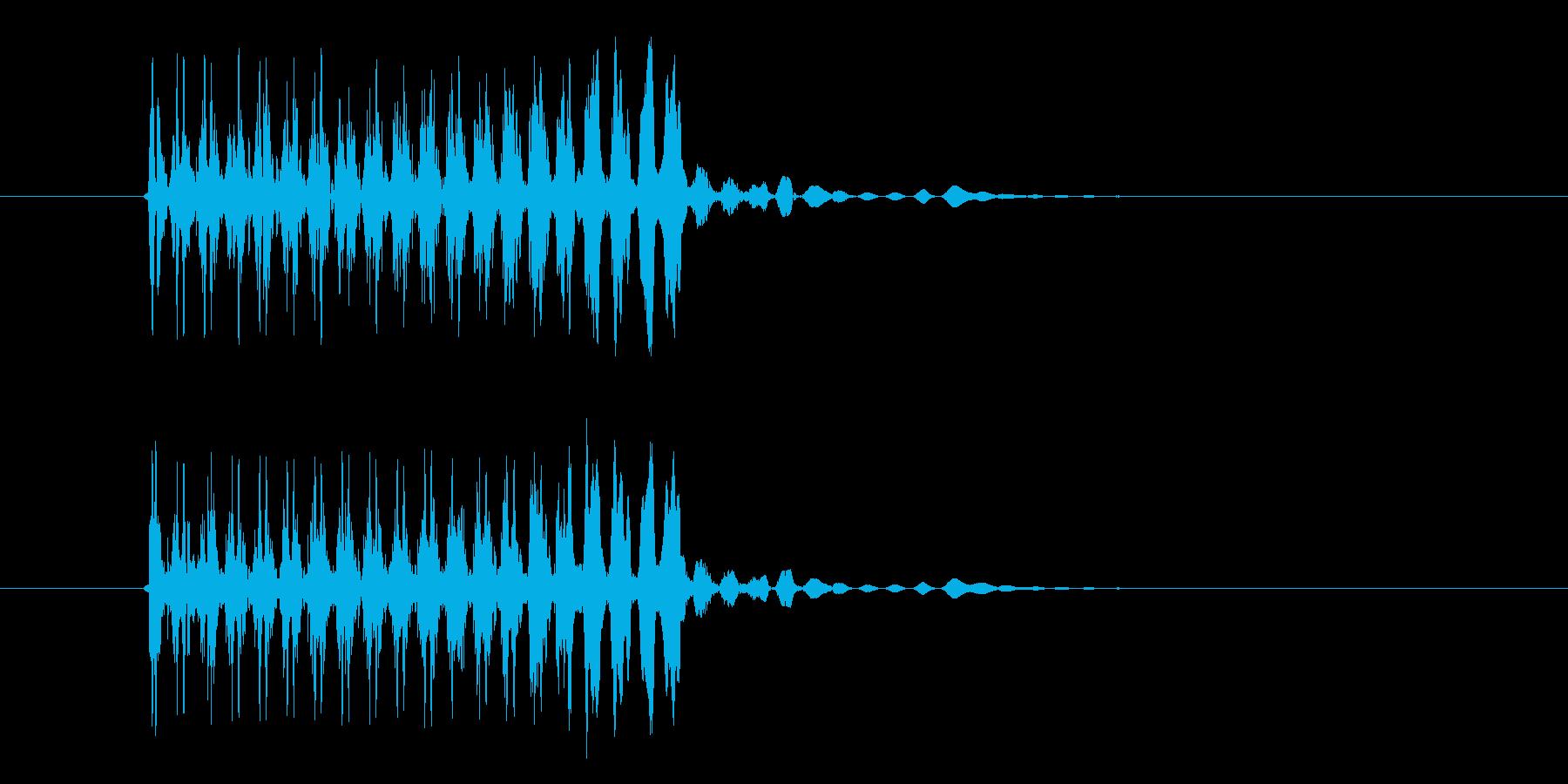 シュルシュル(宇宙、飛ぶ、回転)の再生済みの波形