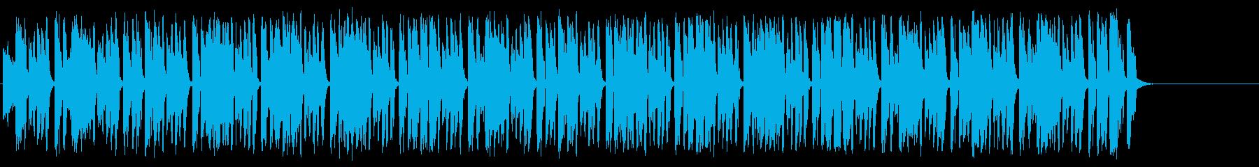 大らかなポップ/ラテンの再生済みの波形