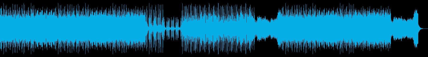 ウンチクを延々と語るちょっと怖いオタクの再生済みの波形