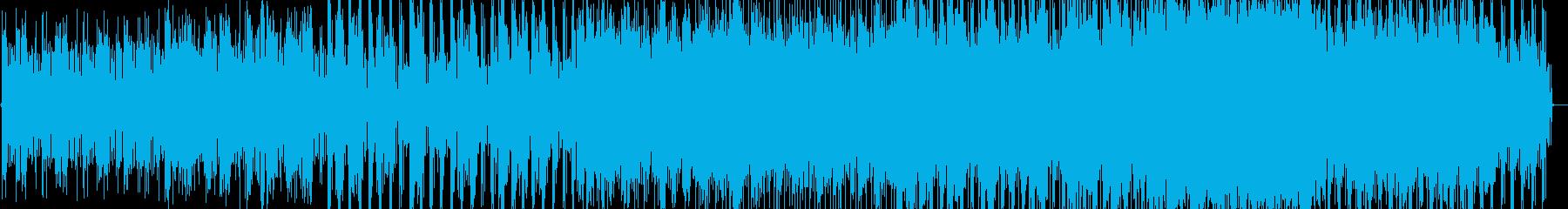 quiet warpの再生済みの波形