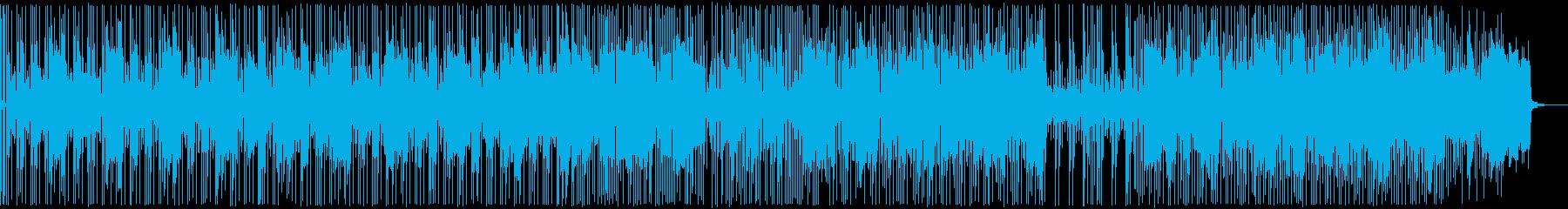 前向きで軽快なジャズフュージョンの再生済みの波形