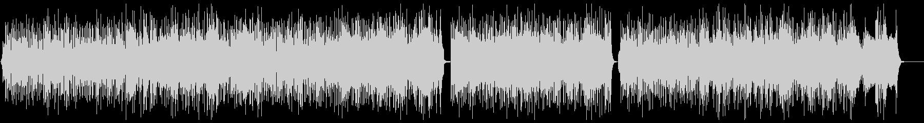 サックス生演奏の軽快なファンクブルースの未再生の波形