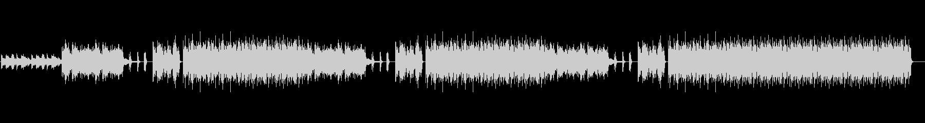 フューチャーベース、RnB、チルアウト3の未再生の波形