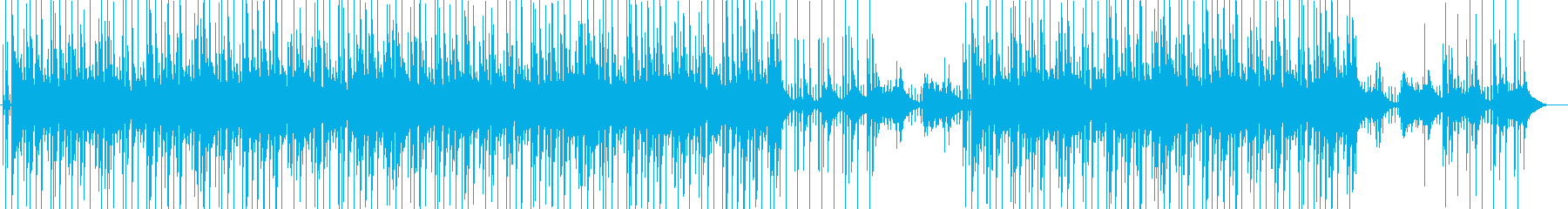 優しいアコギとエレピのメロウHipHopの再生済みの波形