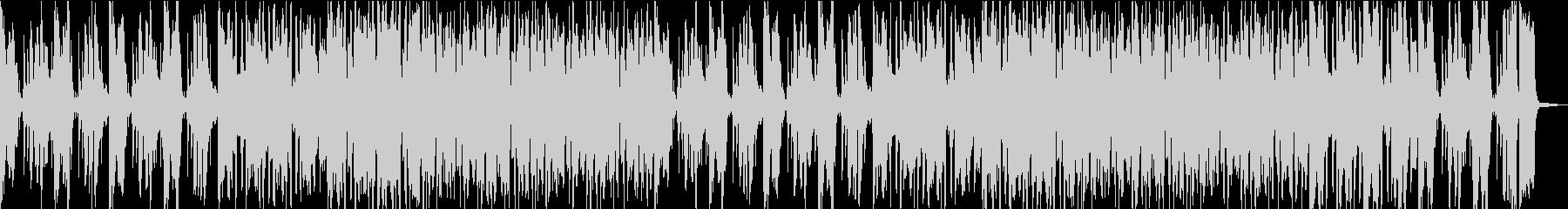 明るくて軽妙な雰囲気ビッグバンドジャズの未再生の波形