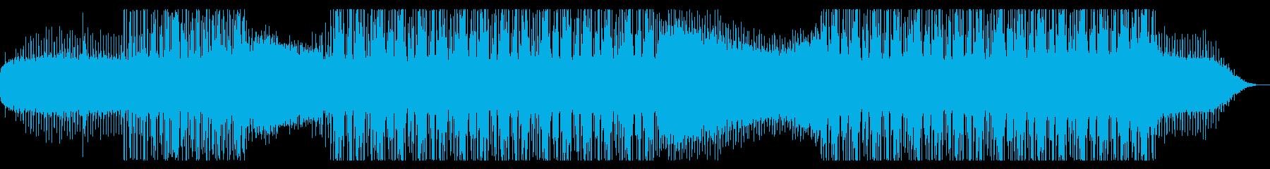 宇宙を漂うようなコズミックドラムンベースの再生済みの波形