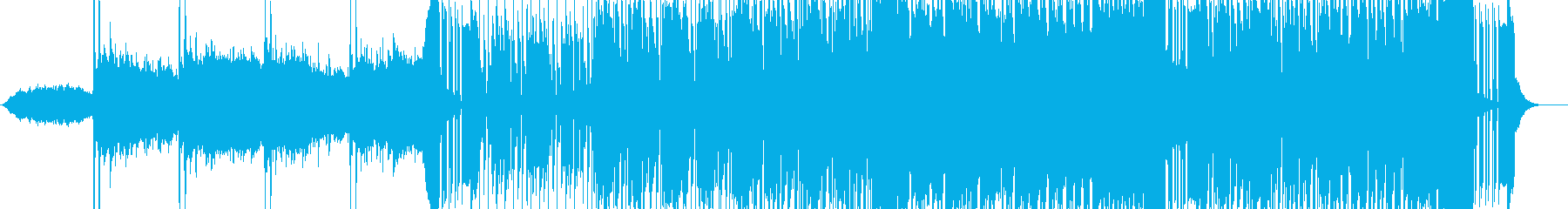 ファンク要素のあるエレクトロの再生済みの波形