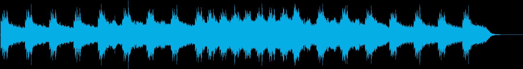 RPGのダンジョン・洞窟・氷の再生済みの波形