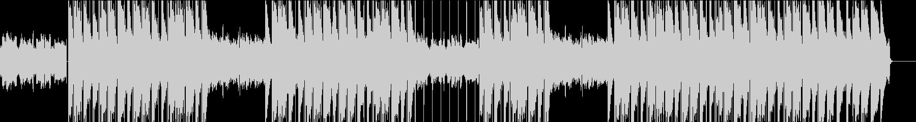 ギターチルアウト・ヒップホップ・トラップの未再生の波形