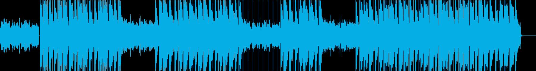 ギターチルアウト・ヒップホップ・トラップの再生済みの波形