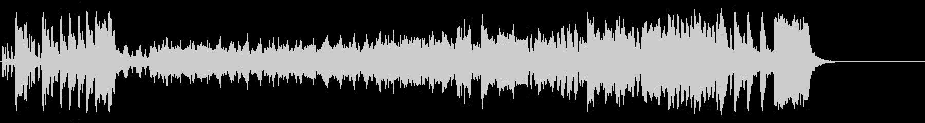 ウインナ・ワルツ風クラシック楽曲の未再生の波形