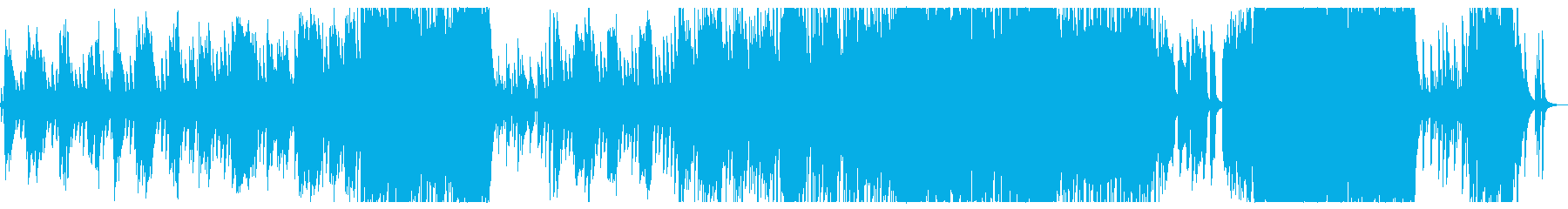 Graduation song of the sunset scene's reproduced waveform