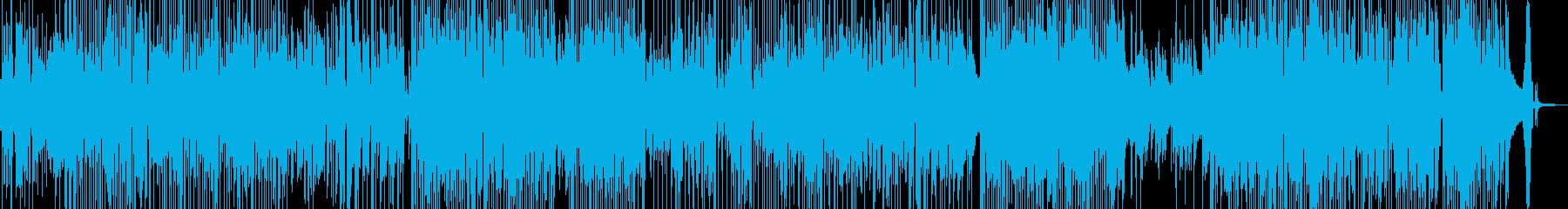 明るく前向きな気持ちになるジャズ 長尺★の再生済みの波形
