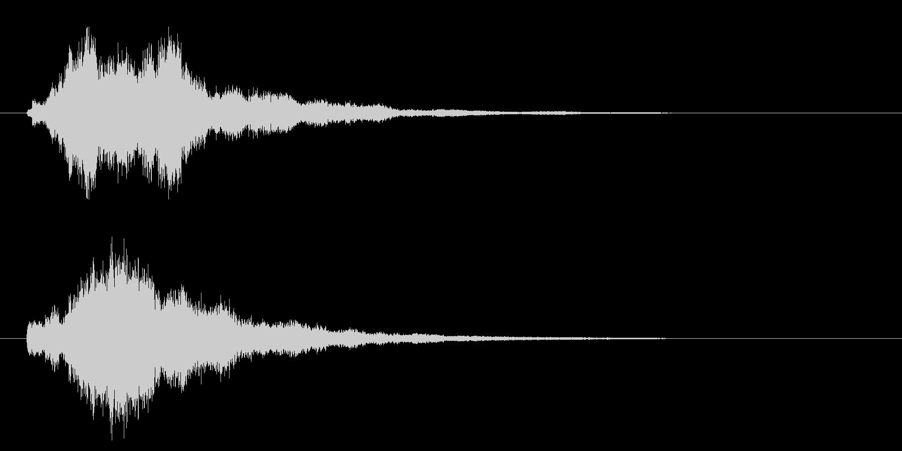 ベル、チャイムの未再生の波形