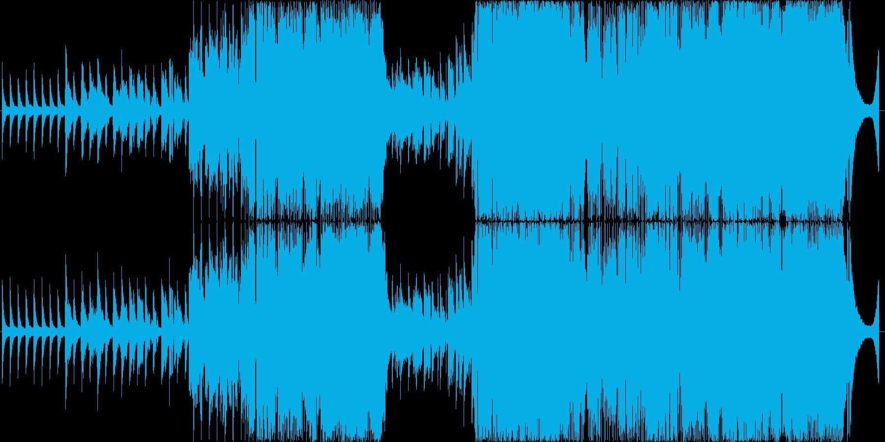 男性目線の切ないラブソング、生演奏の再生済みの波形