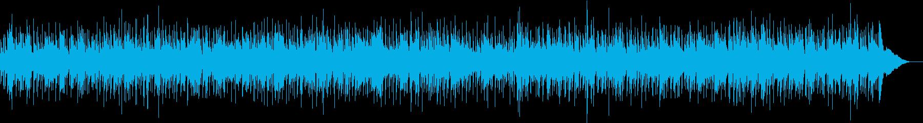 哀愁のあるハーモニカ中心のフォークバンドの再生済みの波形