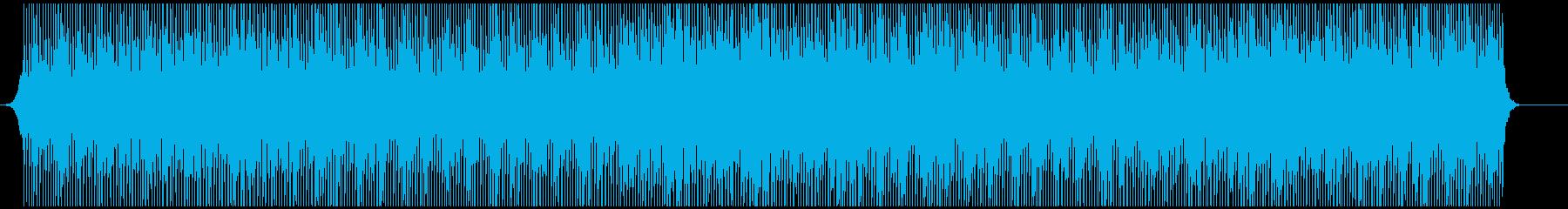 穏やかだがポジティブの再生済みの波形