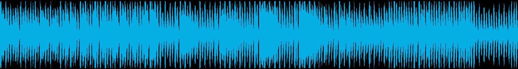 会話パートピッタリ!な和やかなBGMの再生済みの波形