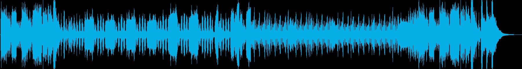 リコーダーとアコーディオンが奏でる軽快なの再生済みの波形