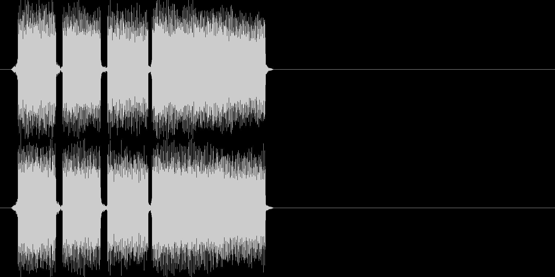 正解の時の効果音その3ですの未再生の波形
